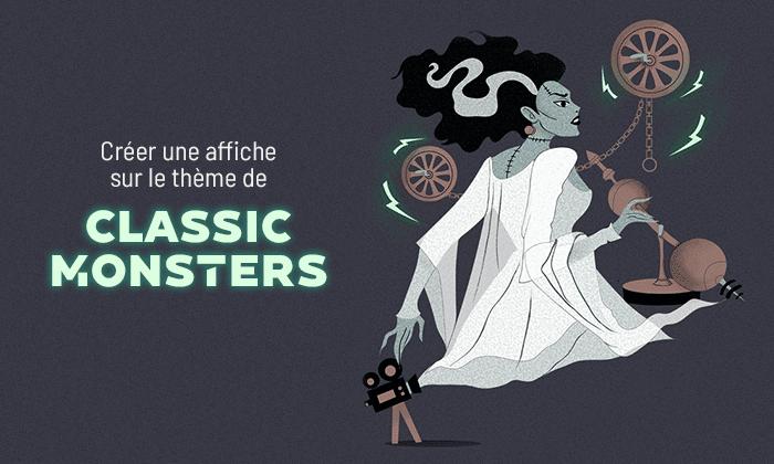 Visuel Classic Monsters