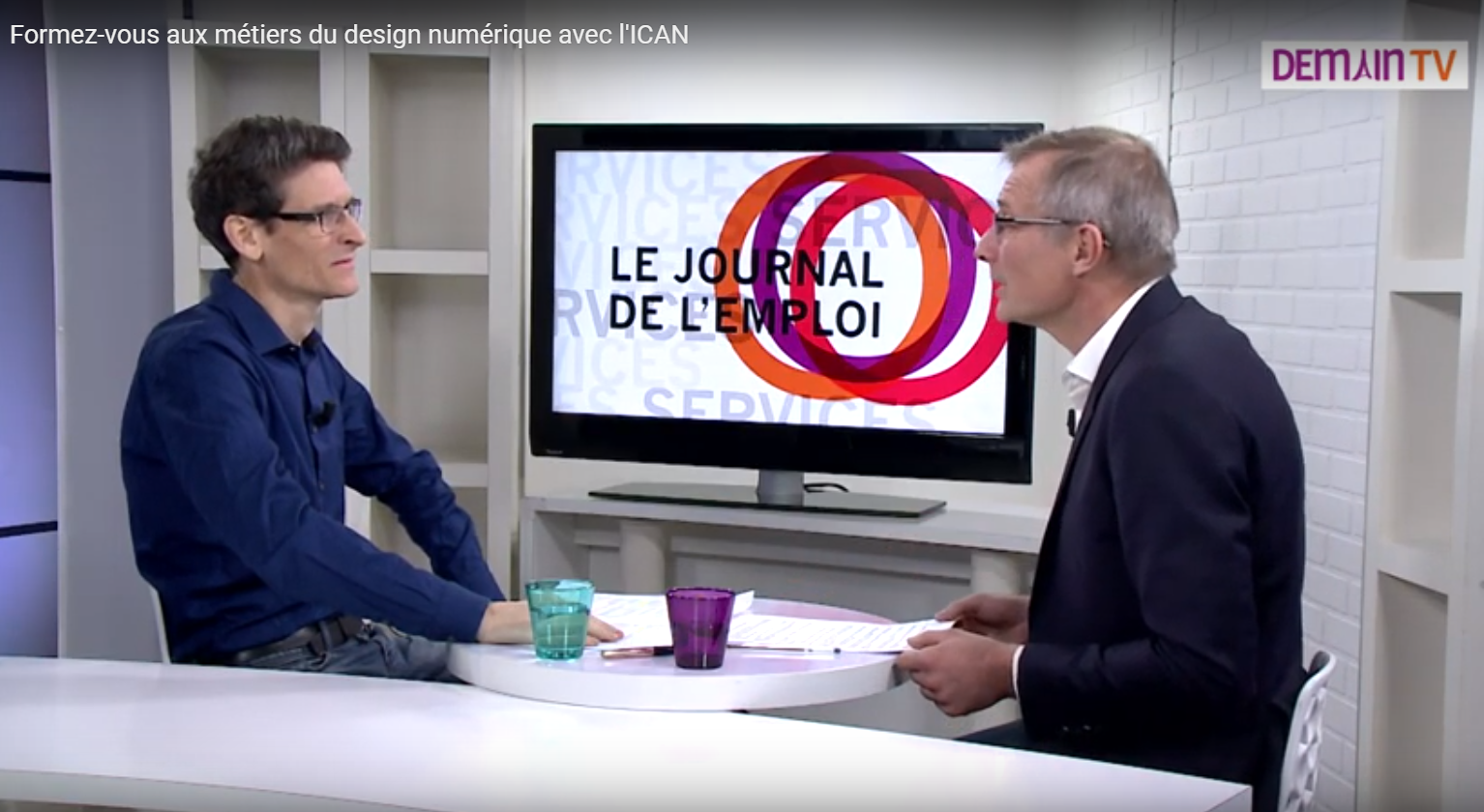 Jean-Philippe Ourry invité de Journal de l'Emploi sur Demain TV