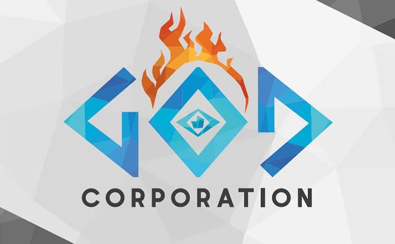 Visuel god corporation Game Design ICAN
