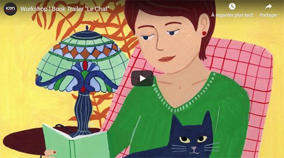 Workshop | Book Trailer Le Chat