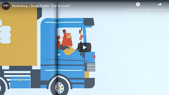 Workshop | Book Trailer Sur la route